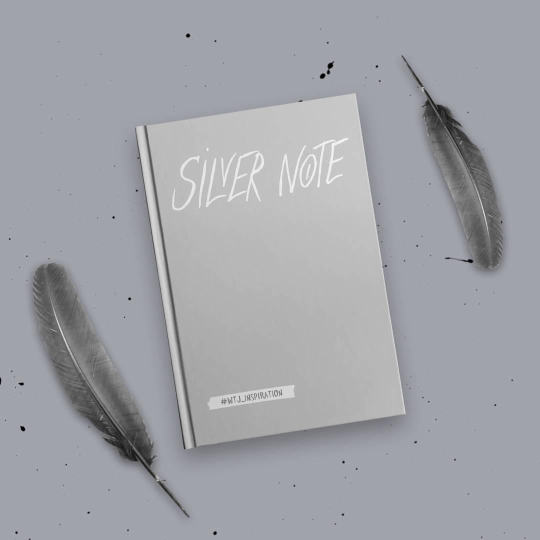 цена Silver Note. Креативный блокнот с серебряными страницами (твердый переплет) онлайн в 2017 году