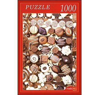 ПАЗЛЫ 1000 элементов. КБ1000-6833 ШОКОЛАД