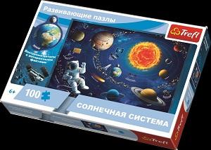 "Пазл 100 дет. ""Солнечная система"" Trefl"