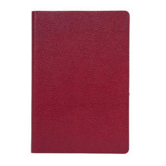 Ежедневник inФОРМАТ ИГУАНА, А5, недат.,красн., 336 стр.,тонир.блок, ляссе, отрыв. Уголок