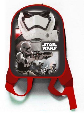 """Рюкзак """"Звездные войны"""", 1 отделение, внутри карман на молнии и карман-сетка, мягкие наплечники, для дошкольников,размер 30*25*10 см"""
