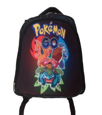 """Рюкзак """"Покемоны"""", полиэстер 600 ден, уплотненная спинка, широкие мягкие регулируемые лямки, 2 боковых кармана, 1 внешний большой карман на молнии, св"""