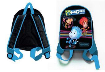 """Рюкзак """"Фиксики-мальчики"""", 1 отделение, внутри карман на молнии и карман-сетка, мягкие наплечники, для дошкольников,размер 30*25*10 см"""