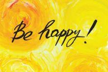 Кардхолдер Be happy! (100х75 мм, на 20 карт)