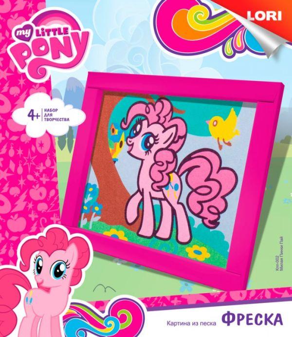 """Фреска. Картина из песка. Hasbro My Little Pony """"Милая Пинки Пай"""""""