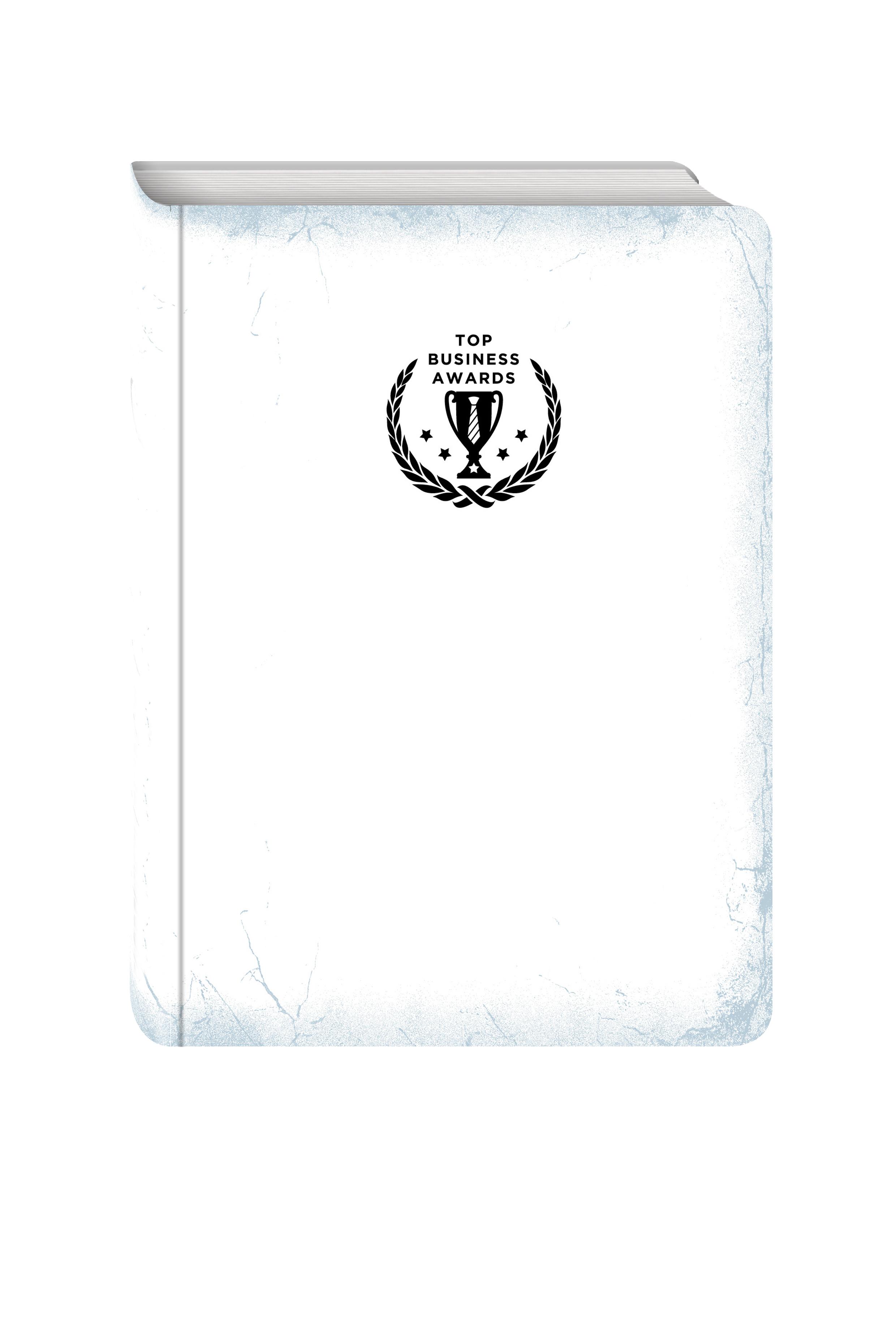 Блокнот Top Business Awards - нелинованный (белое серебро, желтые страницы) блокнот top business awards а5 линованный