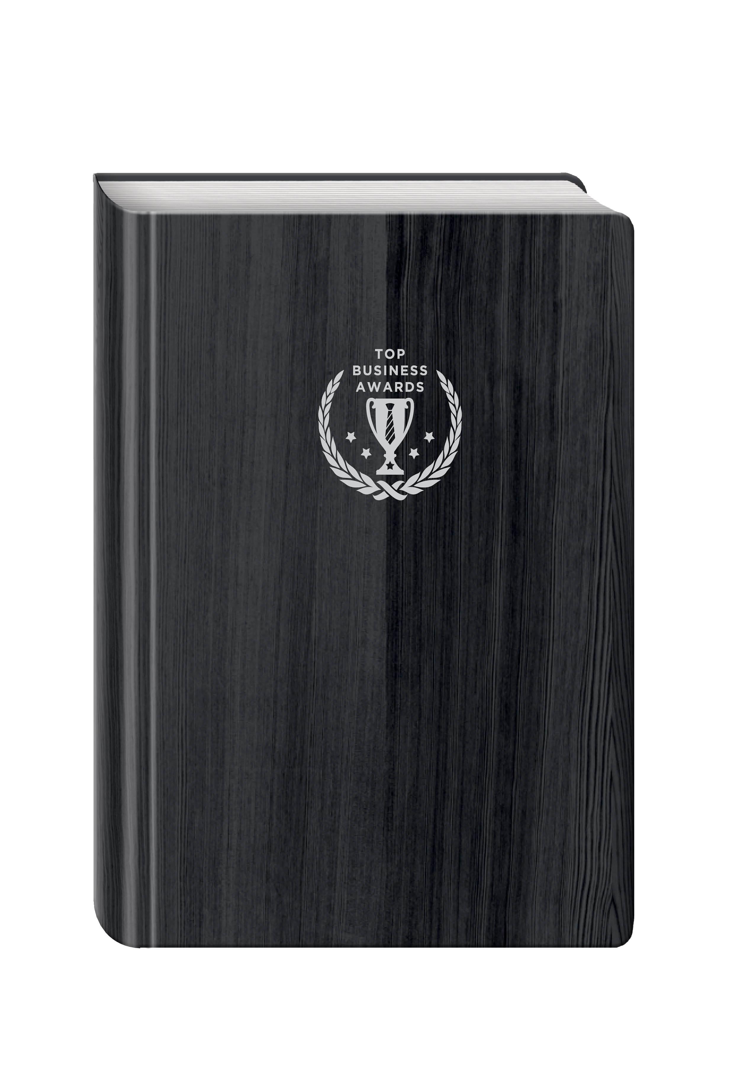 Блокнот Top Business Awards - нелинованный (черное дерево, желтые страницы) блокнот для высокоэффективных людей с главными принципами стивена кови синий