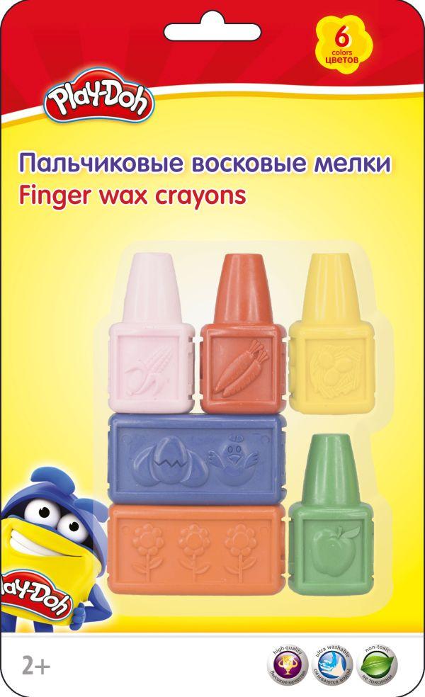Восковые мелки. Набор 6 цв/6шт. Play Doh. Размер: 23,5 х 15 х 4 см.