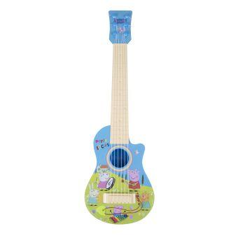 Гитара Пеппы,пластик, в кор.,ТМ Peppa Pig