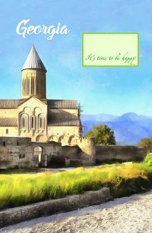 Блокнот. Грузия (Монастырь, А5)