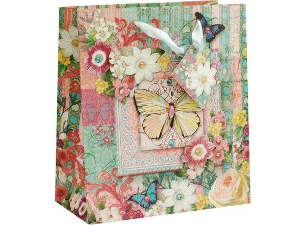 """Аксессуары для скрапбукинга. Пакет """"Бабочки среди цветов"""" (1376-SB)"""