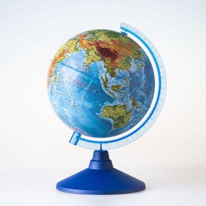 Глобус Земли физический. Диаметр 150мм - фото 1