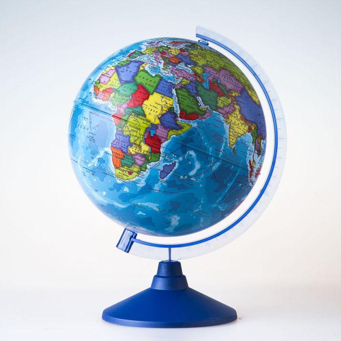 Глобус Земли политический. Диаметр 250мм Диаметр 250мм