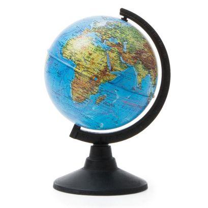 Глобус Земли физический. Диаметр 120мм - фото 1