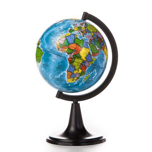 Глобус Земли политический. Диаметр 120мм