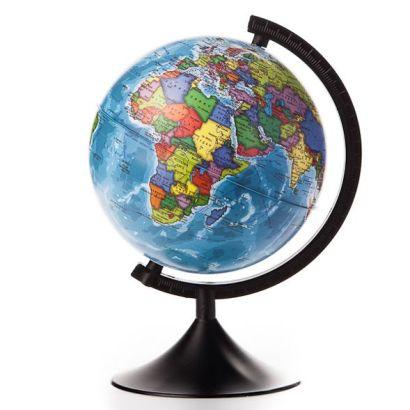 Глобус Земли политический. Диаметр 210мм - фото 1
