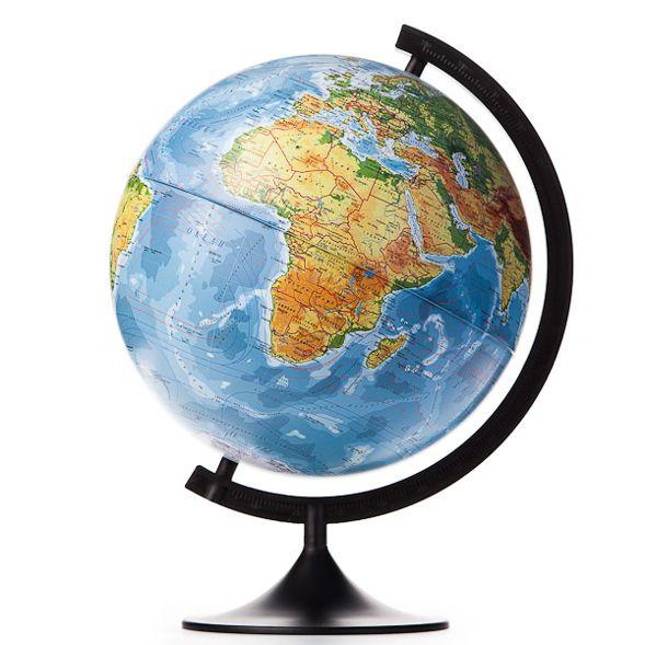 Глобус Земли физический. Диаметр 320мм
