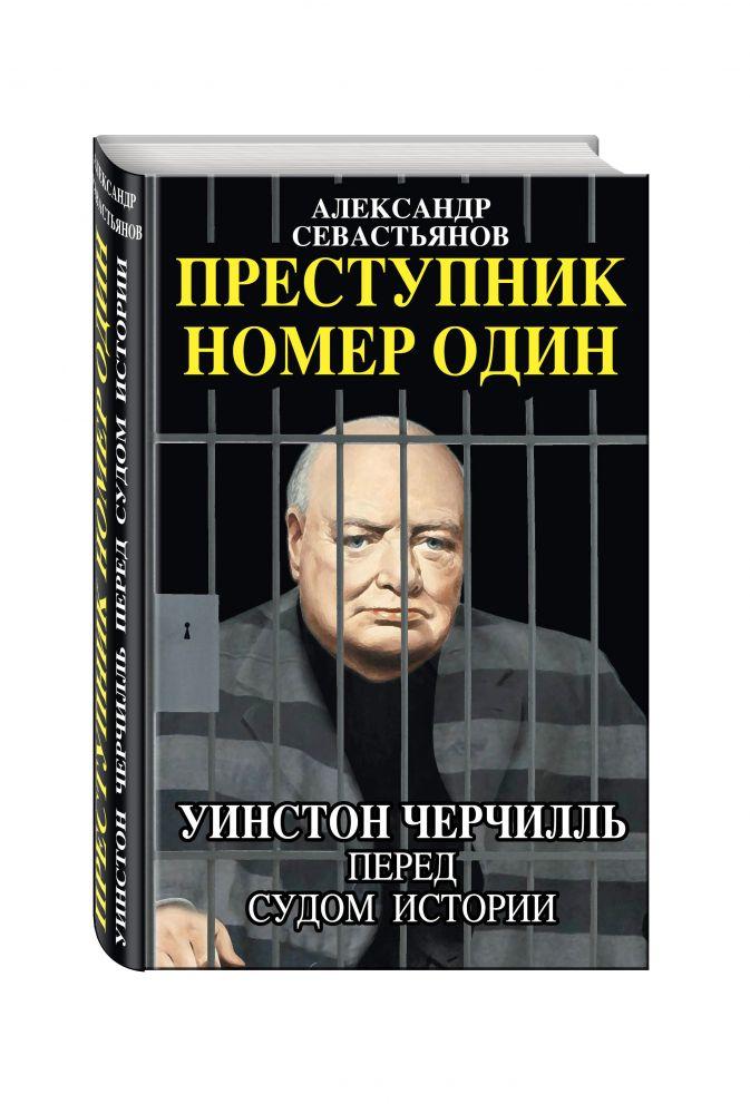 Александр Севастьянов - Преступник номер один. Уинстон Черчилль перед судом Истории обложка книги