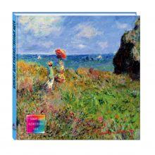 Блокнот для художественных идей. Моне. Прогулка по скалам Пурвиля (твёрдый переплёт, альбомный формат, 96 стр., 255х255 мм) (Арте)