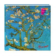 Блокнот для художественных идей. Ван Гог. Цветущие ветки миндаля (твёрдый переплёт, альбомный формат, 96 стр., 255х255 мм) (Арте)