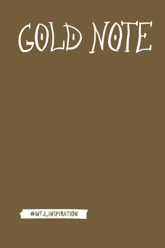 Gold Note. Креативный блокнот с золотыми страницами (твердый переплет)