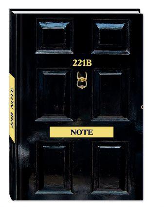 Шерлок. 221b Note. Стильный блокнот для поклонников великого сыщика (твердый переплет)