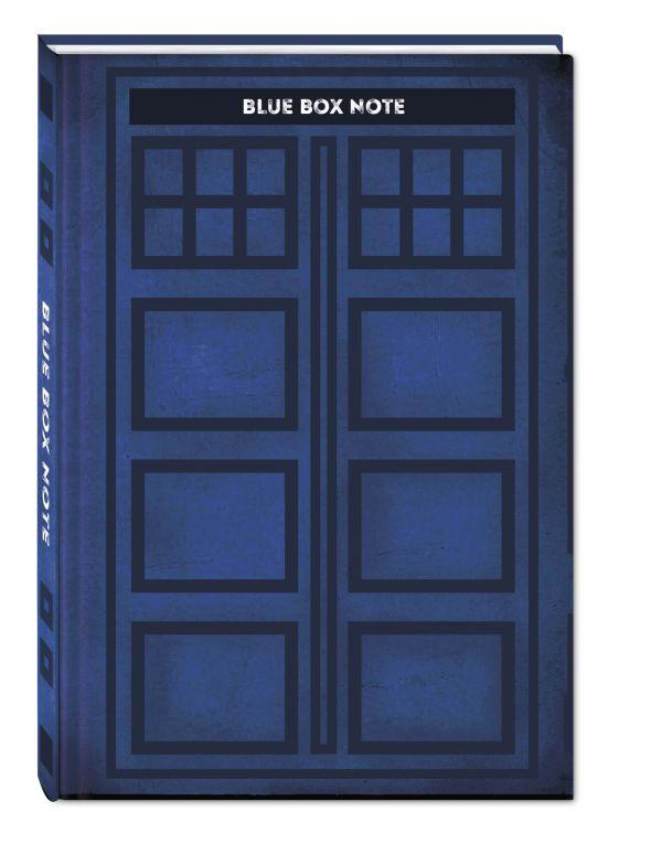 Blue Box Note. Космический блокнот для путешественников во времени (твердый переплет)