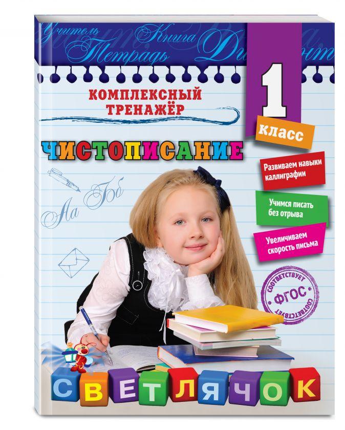Е. С. Собчук - Чистописание. 1-й класс обложка книги