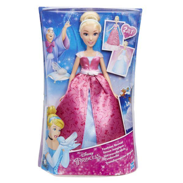 DISNEY PRINCESS Модная кукла Золушка в роскошном платье-трансформере (C0544) DISNEY PRINCESS
