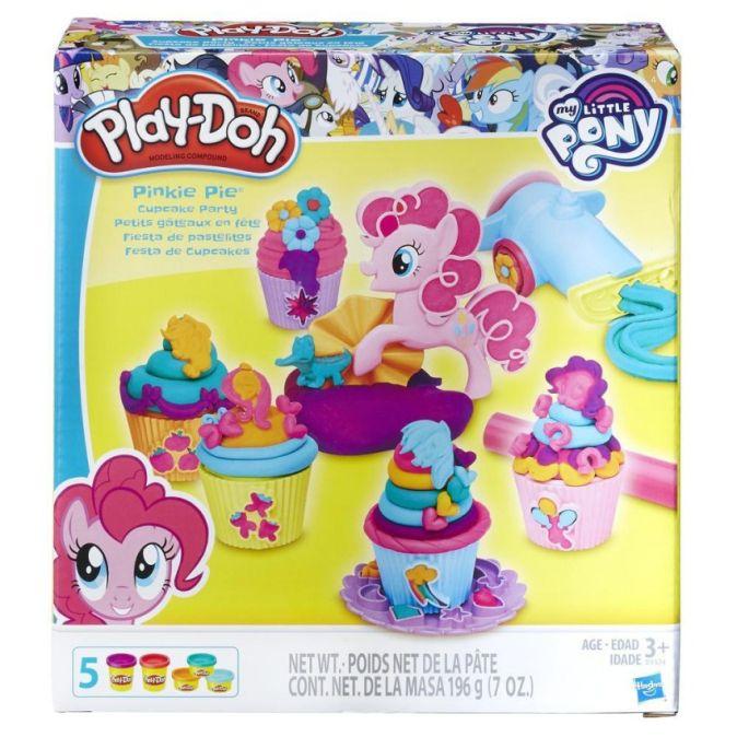"""PLAY-DOH - Play-Doh Игровой Набор """"Вечеринка Пинки Пай"""" (B9324) обложка книги"""