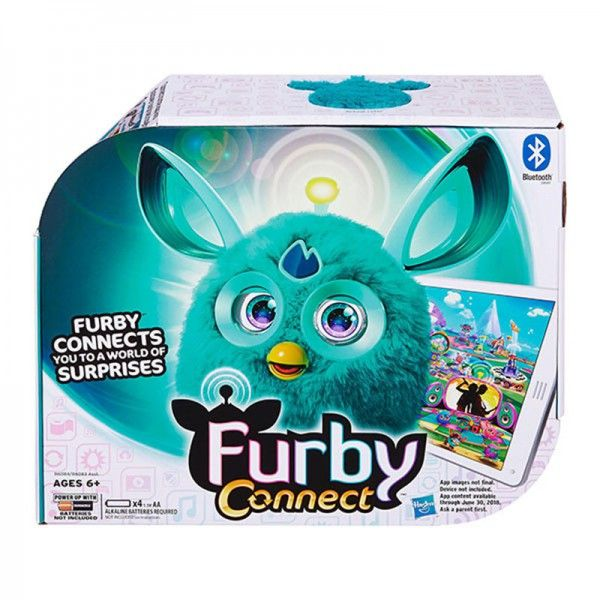 "Furby Интерактивная игрушка ""Furby"". Коннект яркие цвета (B6083) Furby"
