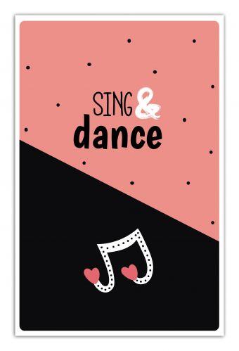 Sing & dance (А5)