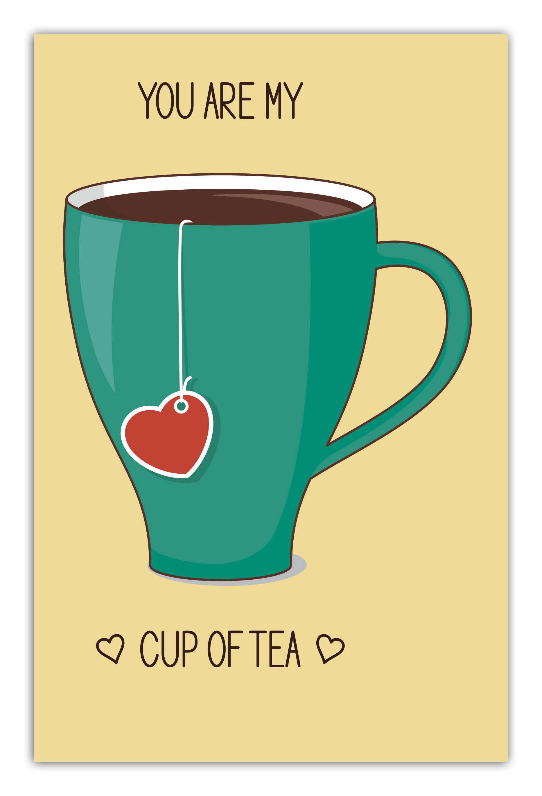You are my cup of tea (green cup) (А5) от book24.ru