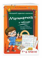 Бачинская И.П. - Математика в таблицах' обложка книги