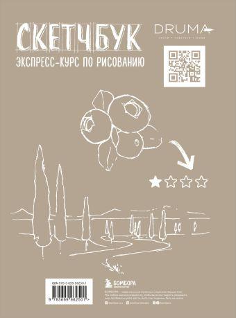Скетчбук. Экспресс-курс по рисованию (открытый корешок, обложка крафт) Любовь Дрюма