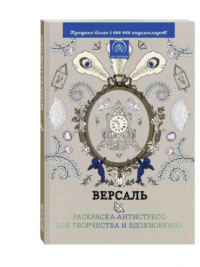 """Подарочный комплект со скидкой: 2 раскраски («Версаль. Раскраска-антистресс для творчества и вдохновения» и «Страна фей. Раскраска-антистресс для творчества и вдохновения») + цветные карандаши """"Кот Саймон"""""""