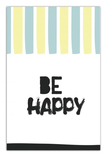 Be happy (А5)