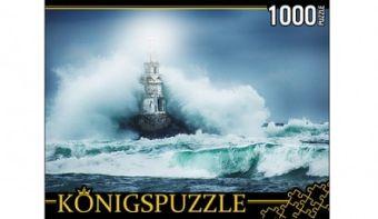 Königspuzzle. ПАЗЛЫ 1000 элементов. ГИК1000-6531 МАЯК И ШТОРМ