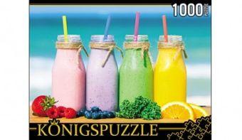 Königspuzzle. ПАЗЛЫ 1000 элементов. ГИК1000-6535 СМУЗИ НА ПЛЯЖЕ