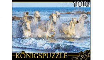 Königspuzzle. ПАЗЛЫ 1000 элементов. ГИК1000-6550 ДИКИЕ ЛОШАДИ