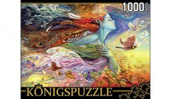 Königspuzzle. ПАЗЛЫ 1000 элементов. ХК1000-6521 ЖОЗЕФИНА УОЛЛ. ДУХ ПОЛЁТА