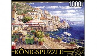 Königspuzzle. ПАЗЛЫ 1000 элементов. АЛК1000-6485 ЛЕТНЯЯ НАБЕРЕЖНАЯ