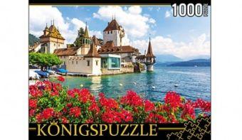 Königspuzzle. ПАЗЛЫ 1000 элементов. КБК1000-6490 ЗАМОК У ВОДЫ