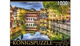 Königspuzzle. ПАЗЛЫ 1000 элементов. КБК1000-6500 ЕВРОПЕЙСКАЯ НАБЕРЕЖНАЯ