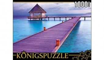 Königspuzzle. ПАЗЛЫ 1000 элементов. КБК1000-6501 РАЙСКИЕ МАЛЬДИВЫ