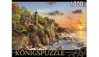 Königspuzzle. ПАЗЛЫ 1000 элементов. МГК1000-6460 МАЯК У МОРЯ