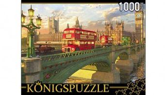 Königspuzzle. ПАЗЛЫ 1000 элементов. МГК1000-6489 ЛОНДОНСКИЙ МОСТ