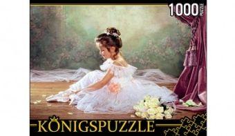 Königspuzzle. ПАЗЛЫ 1000 элементов. МГК1000-6513 МАЛЕНЬКАЯ БАЛЕРИНА