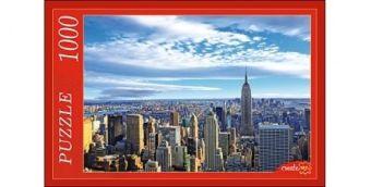 ПАЗЛЫ 1000 элементов. КБ1000-6878 ПАНОРАМА НЬЮ-ЙОРКА