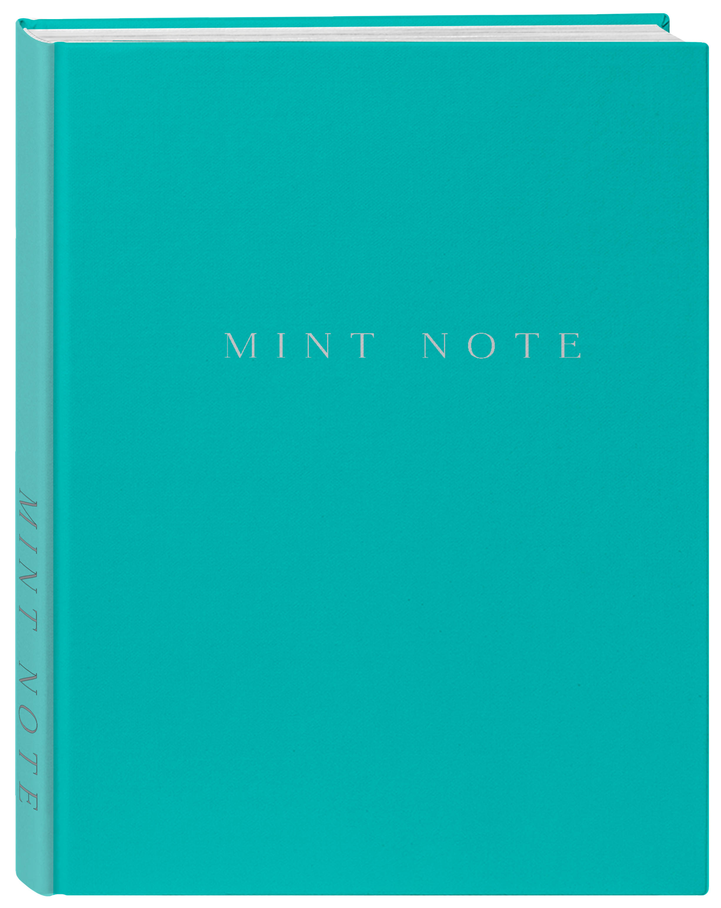 Mint Note. Стильный блокнот с мятными страницами